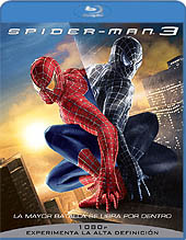 Blu-ray de Spider-man 3