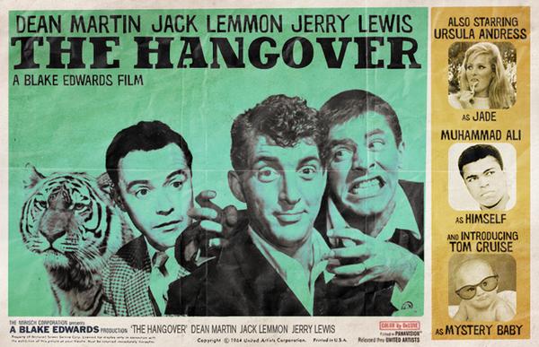 """Poster retro de """"Resacón en Las Vegas"""""""