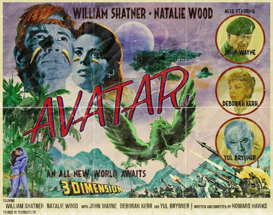 "Poster retro ""Avatar"""