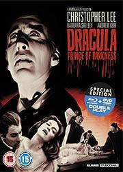 """Blu-ray de """"Drácula príncipe de las tinieblas"""""""