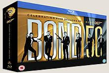 James Bond: edición aniversario Blu-Ray